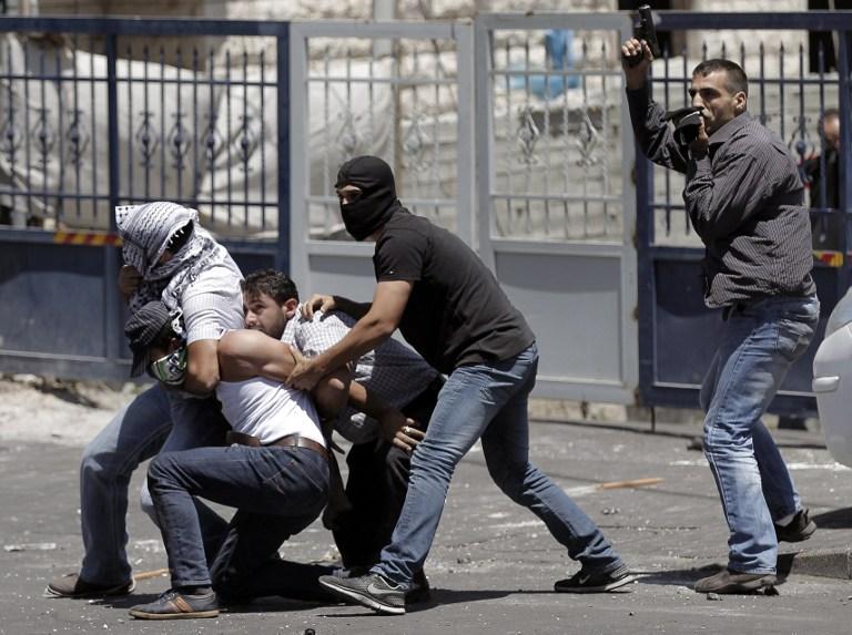 Службы безопасности в Иерусалиме 1
