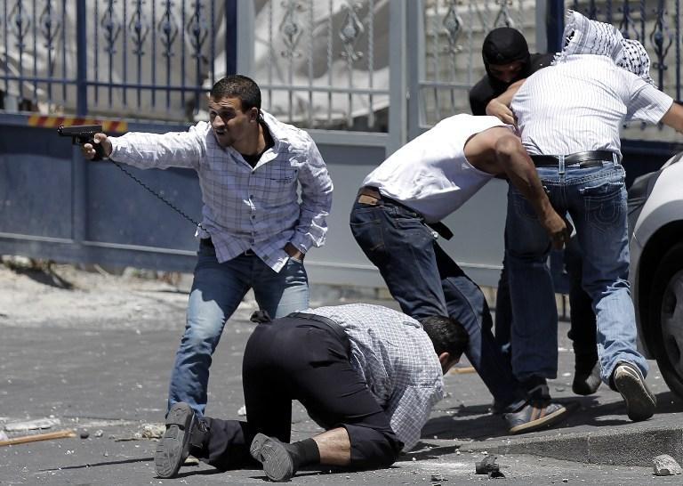 Службы безопасности в Иерусалиме 2
