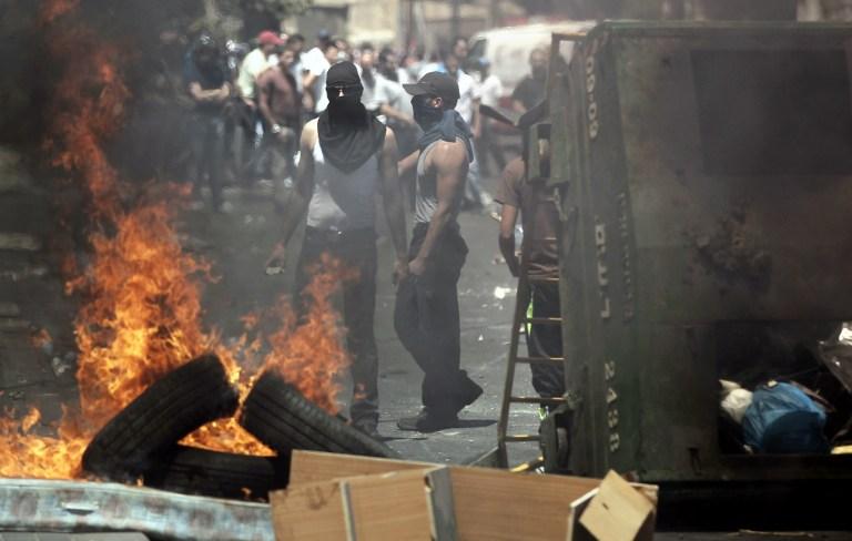 Службы безопасности в Иерусалиме 5