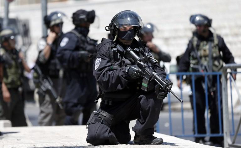 Службы безопасности в Иерусалиме 6