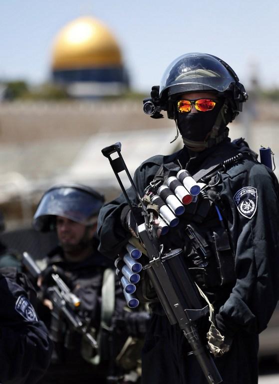 Службы безопасности в Иерусалиме 8
