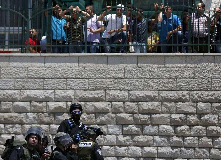 Службы безопасности в Иерусалиме 9