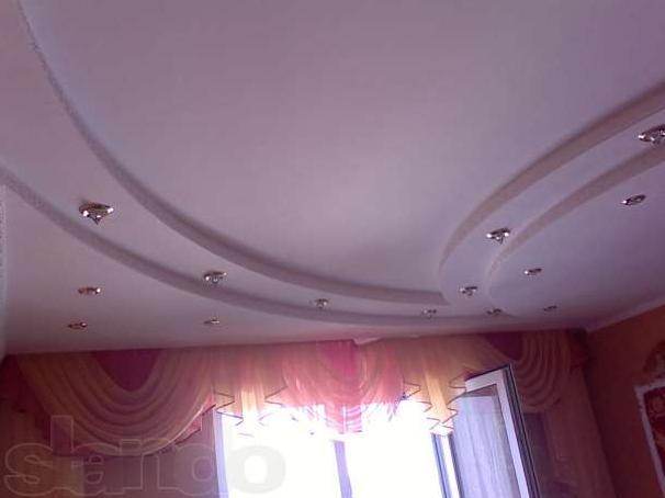 Потолки из гипсокартона 1