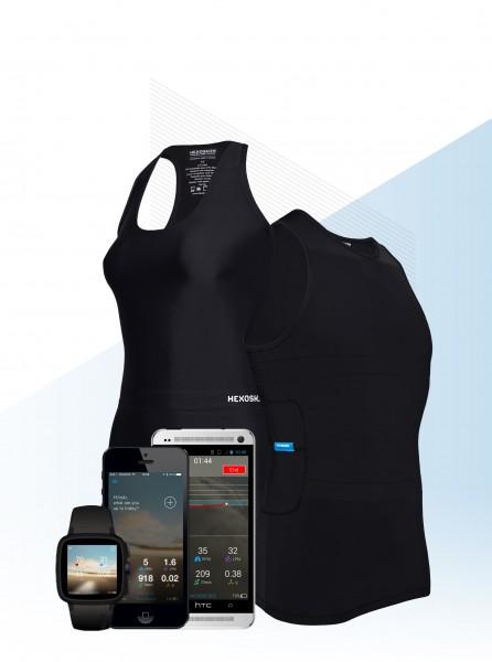 Умная биометрическая футболка