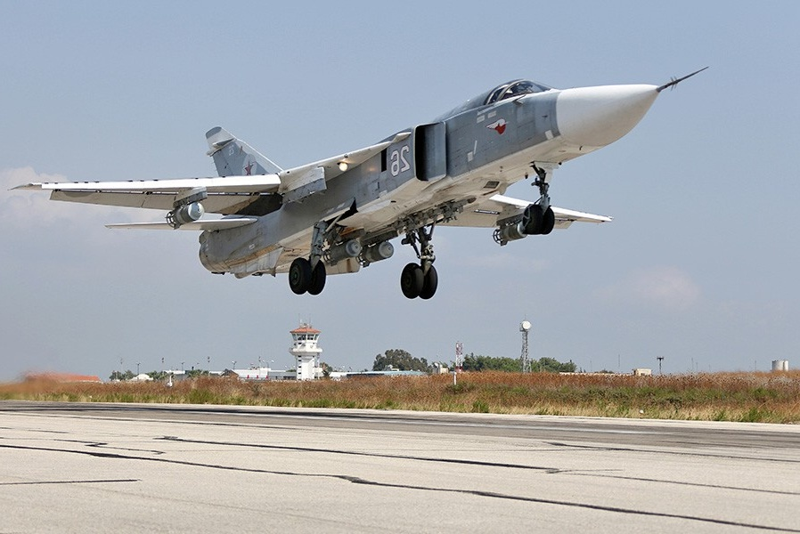 Боевой самолет России