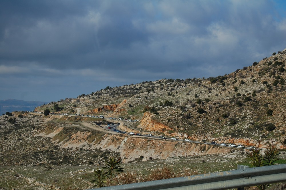 Горные лыжи на горе Хермон в Израиле 6