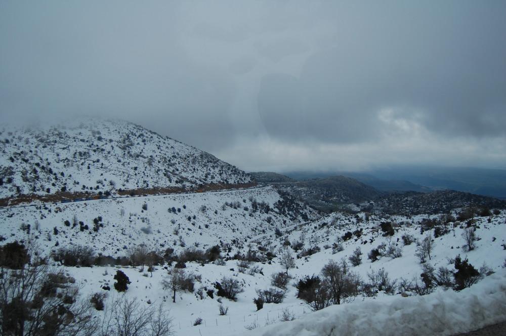 Горные лыжи на горе Хермон в Израиле 8