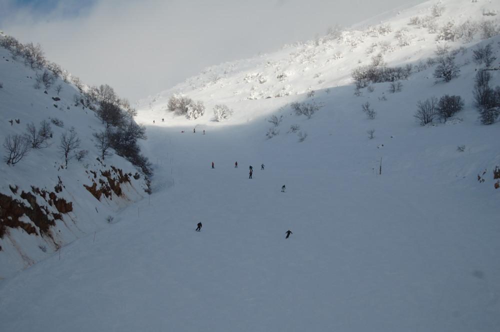 Горные лыжи на горе Хермон в Израиле 14