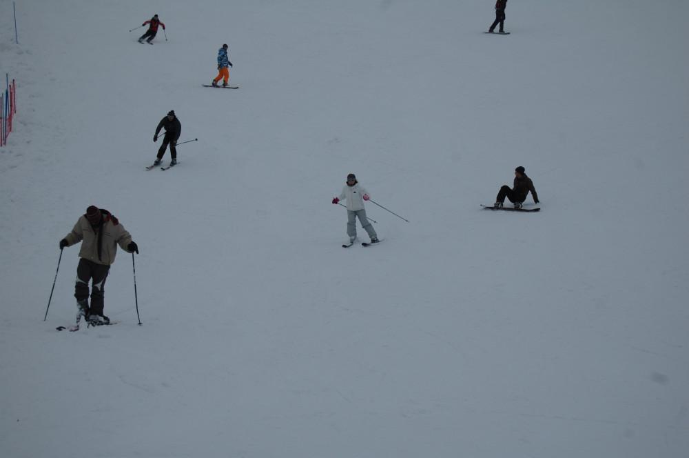 Горные лыжи на горе Хермон в Израиле 17