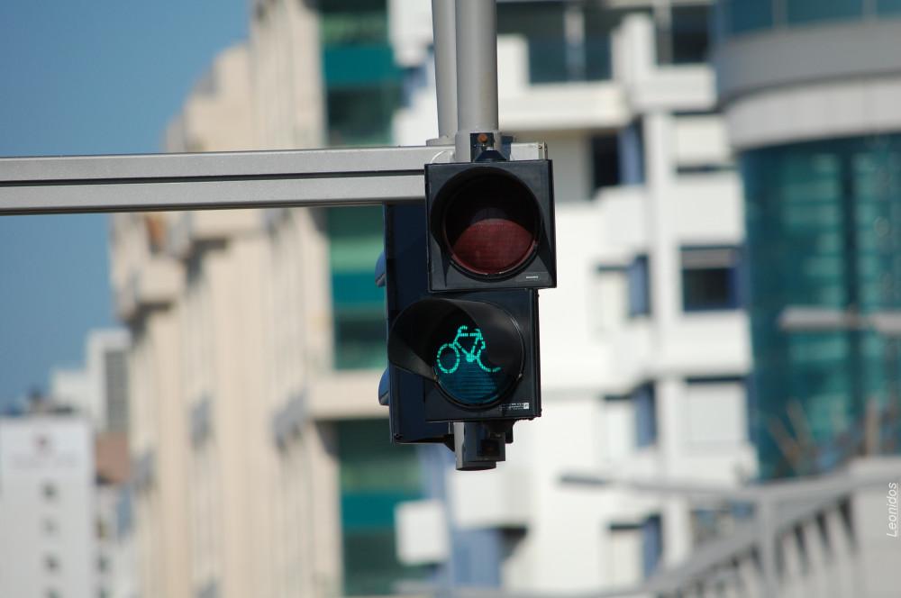Светофор для велосипедистов 2