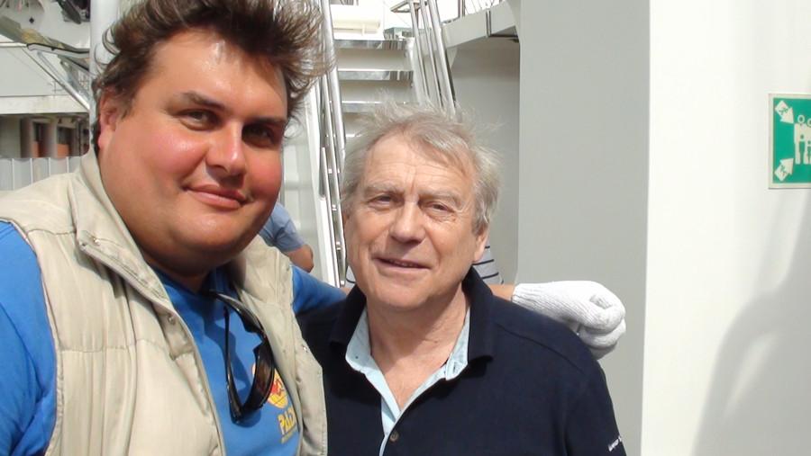 космонавт Александров и Леонид Гаврилов