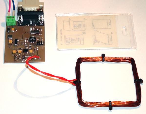 считыватель RFID карточек