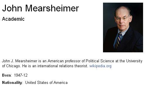 Mearsheimer