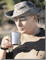 Путин с кружкой