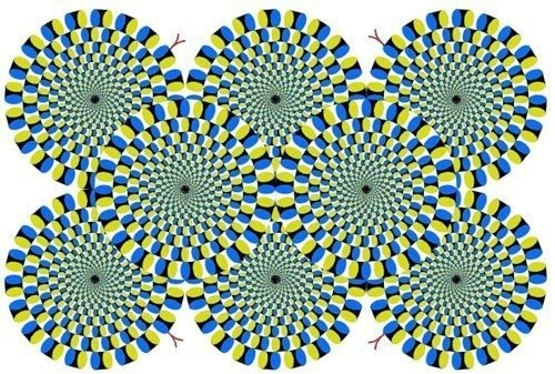 Иллюзия движ