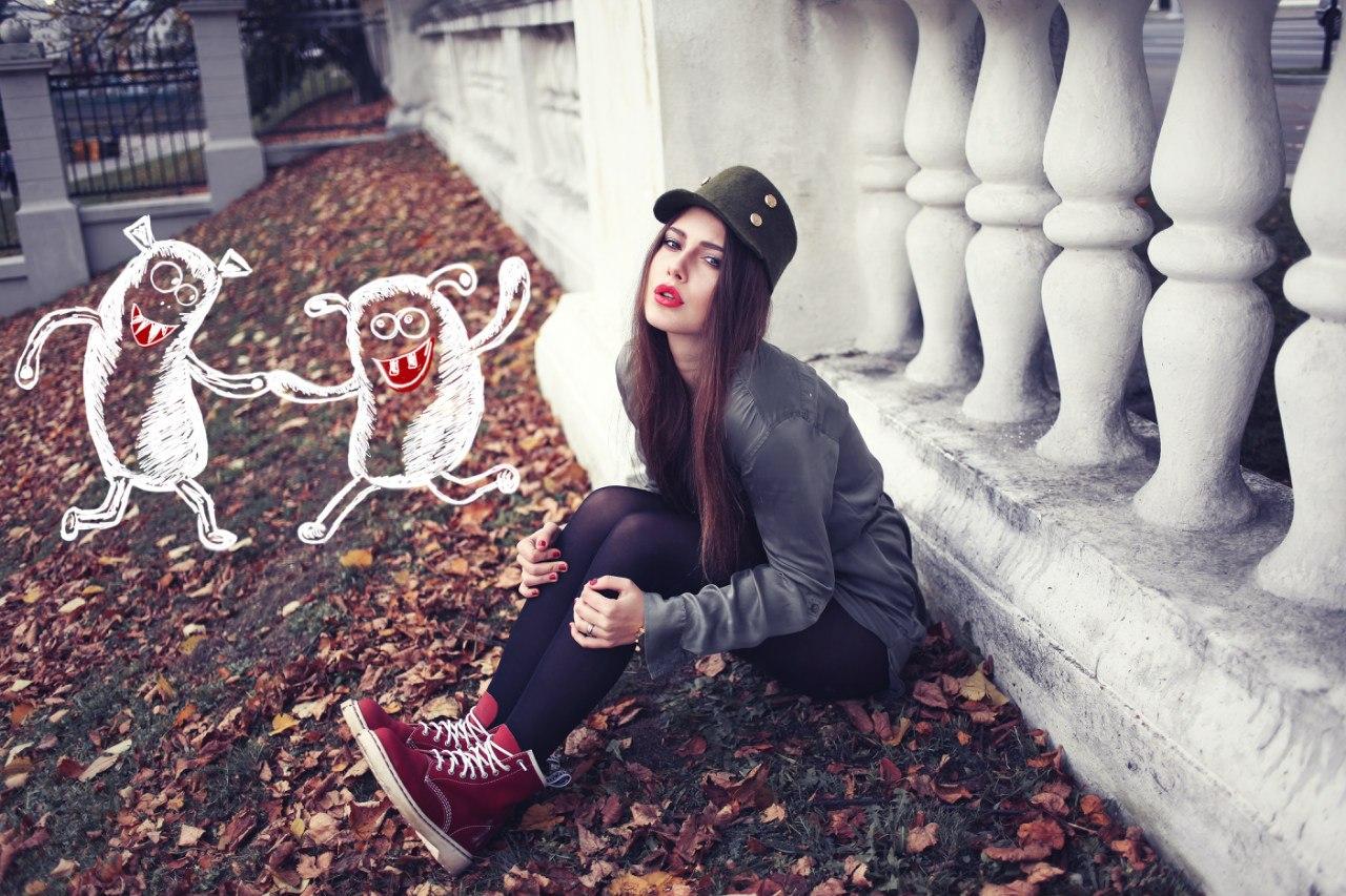 Встречусь с девушкой осенью