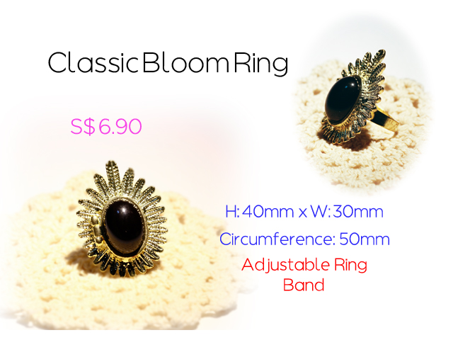Classic Bloom Ring