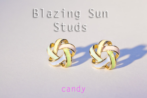 Blazing Sun Studs