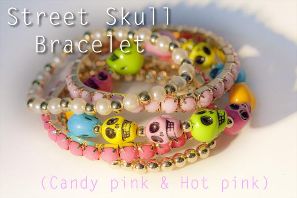 Street Skull Bracelet