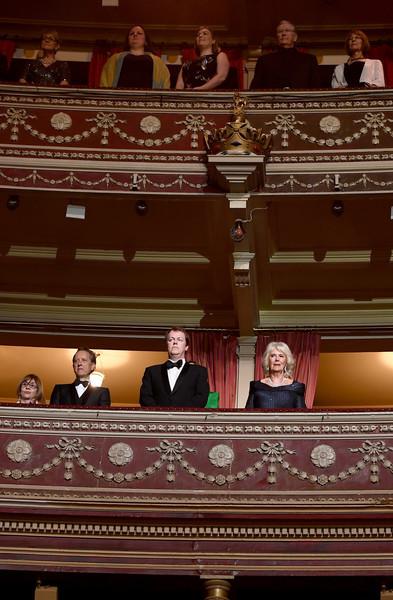 Герцогиня Корнуольская на вручении театральной премии Лоренса Оливье