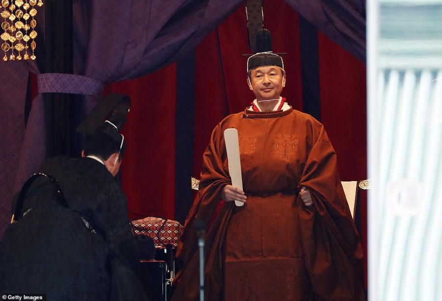 Интронизация императора Нарухито. Обновляется.