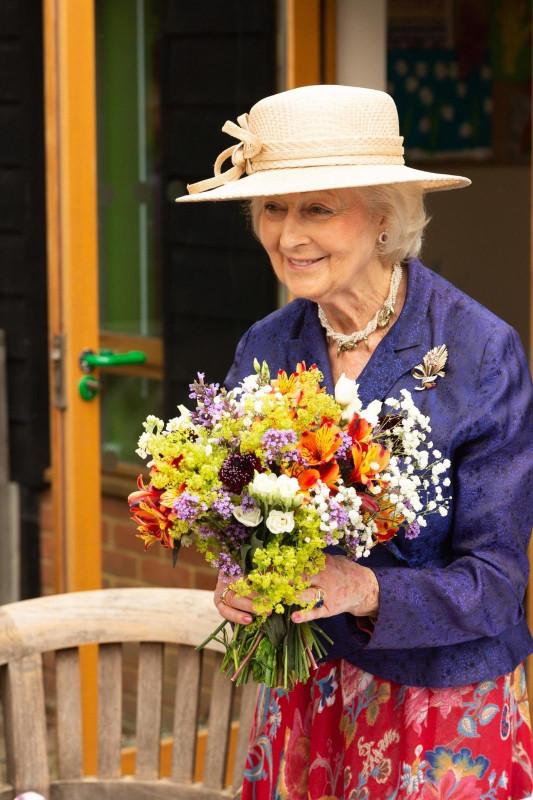 Выставка цветов от БКС