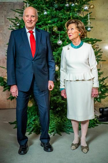 Рождественская фотосессия норвежцев
