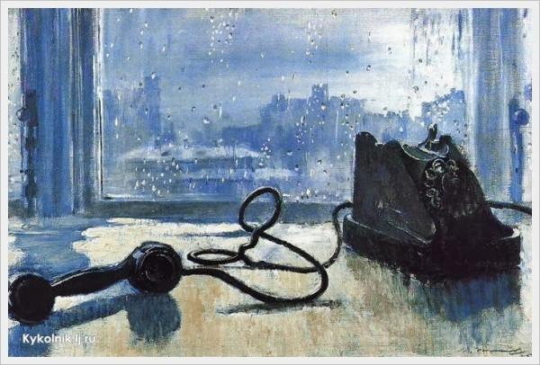 1959 Пименов Юрий Иванович (Россия, 1903 - 1977) «Ожидание»