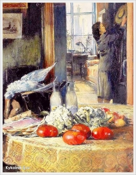 1957 Пименов Юрий Иванович (Россия, 1903-1977) «Утренние покупки»