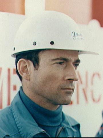Янг при подготовке Apollo-10