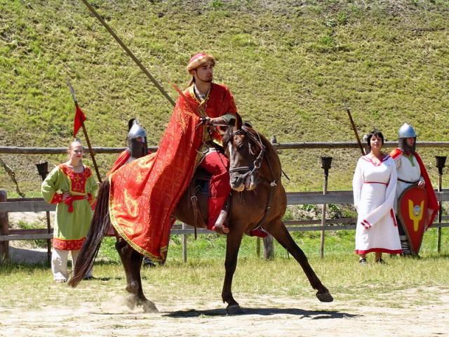 Князь на коні