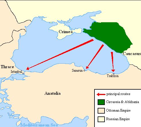 карта черк