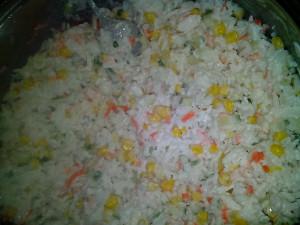 Крабовый салат - 16 фев 2019