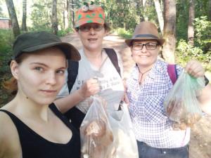 Мы на выходе из леса - 28 августа 2019