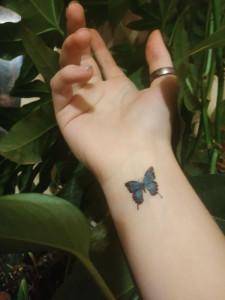 Лидина бабочка на руке - 30 сент 2019