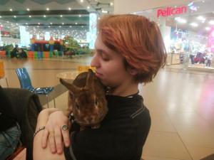 Алекс и кролик Питер