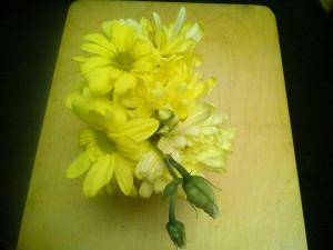 Букетик хризантем - 26 марта 2020