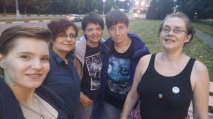 С Дашей и Оленем - 19 июня 2020