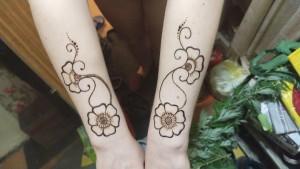 Мехенди цветы - 8 июля 2020