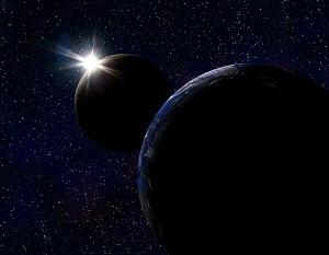 Глобус в космосе-small