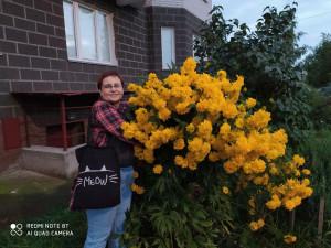 Рэйчел с золотыми шарами - 24 августа 2020