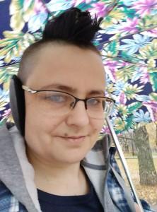 Рэйчел с зонтом - 1 ноября 2020