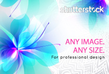 Shutterstock: Any image. Any size. For professional designers