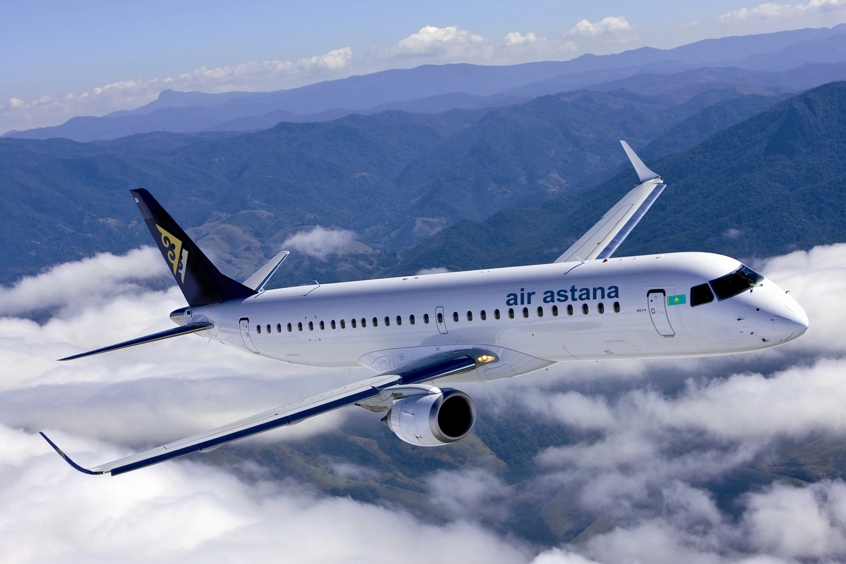 Air_Astana_Embraer