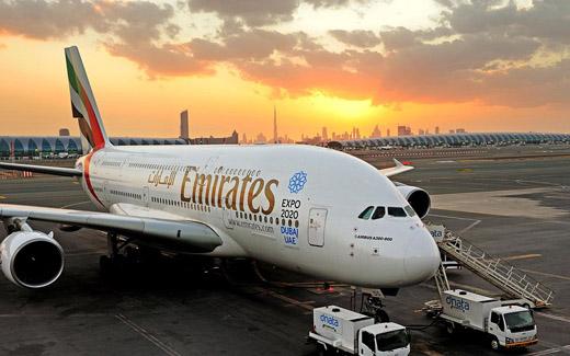 expo-2020 Dubai Emirates a-380