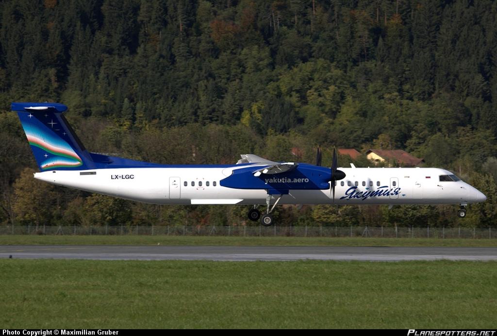 DHC-8-400 якутия