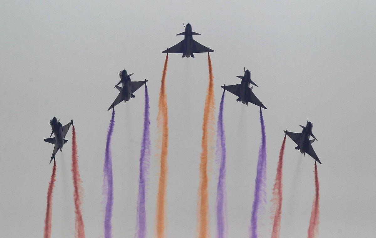 пилотажная группа 1 августа Китай