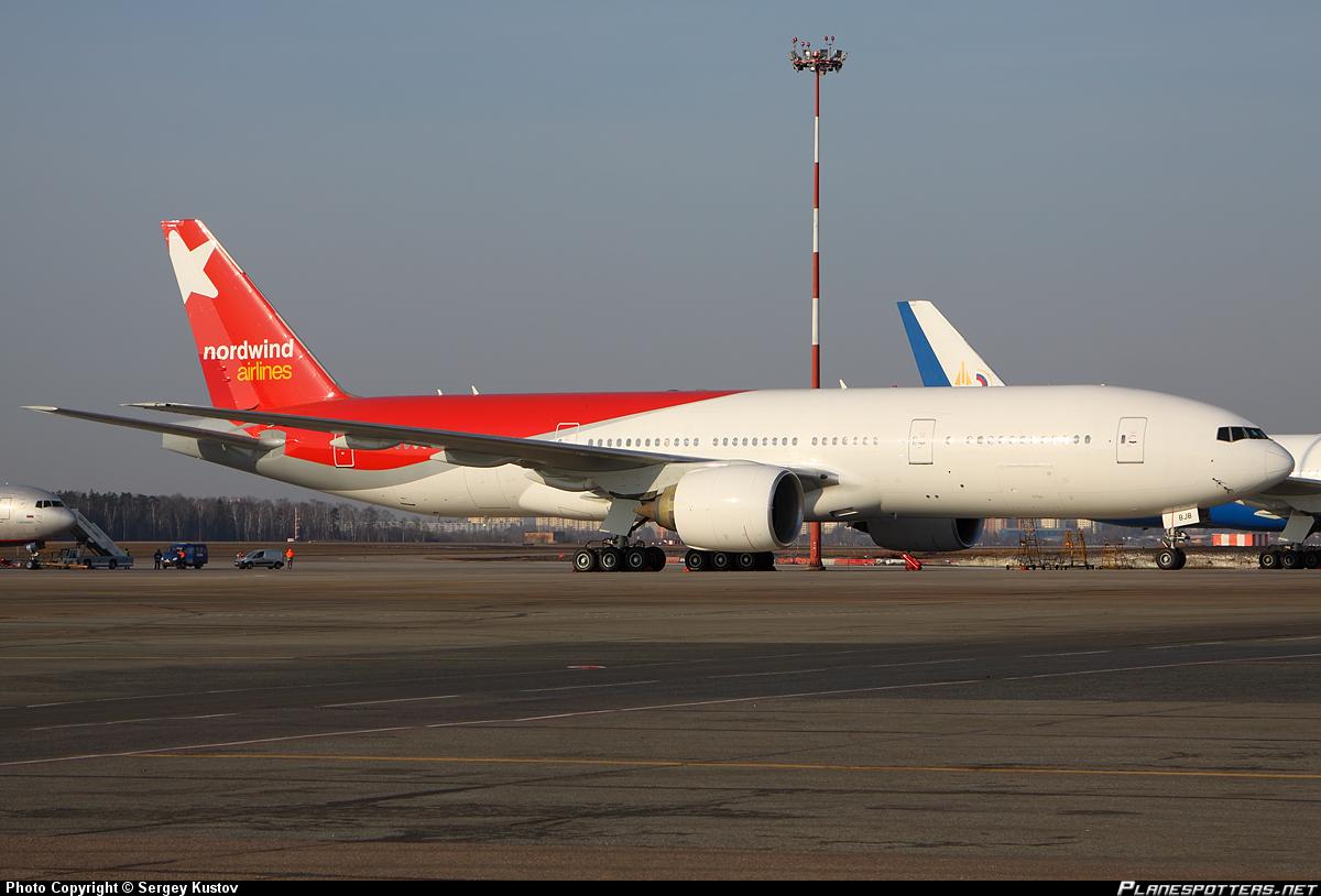 Nordwind-Boeing-777