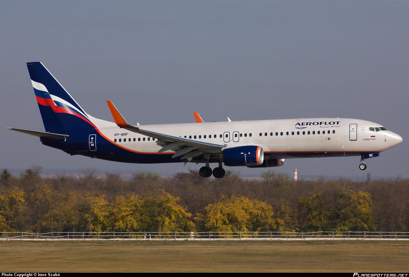 Aeroflot-Boeing-737-800