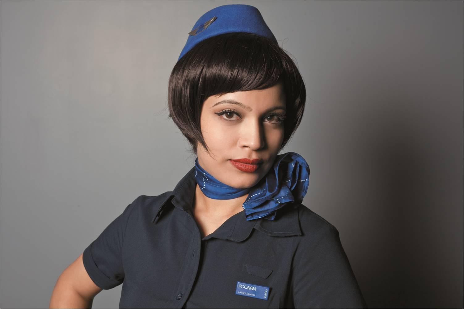 Стюардессы авиакомпаний мира индиго
